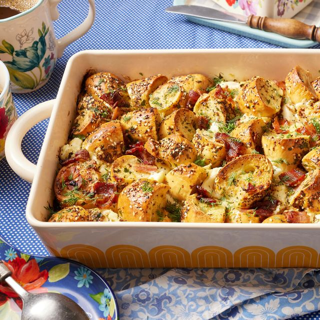 the pioneer woman's everything bagel casserole recipe