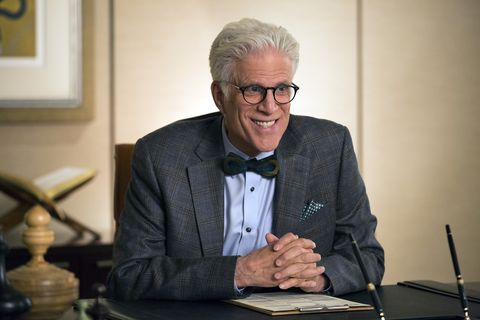 Ted Danson Tells Us If Marathoners Are Going to 'The Good Place'