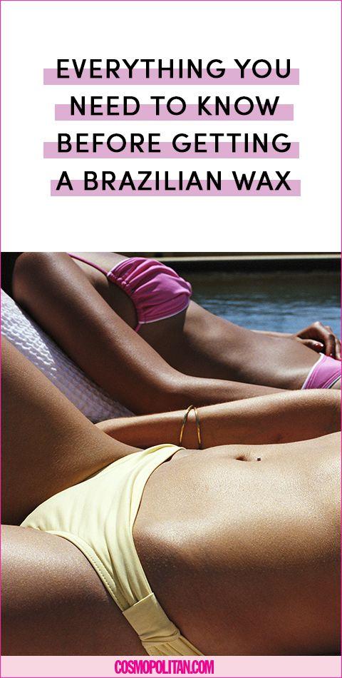 Before you get a brazilian wax