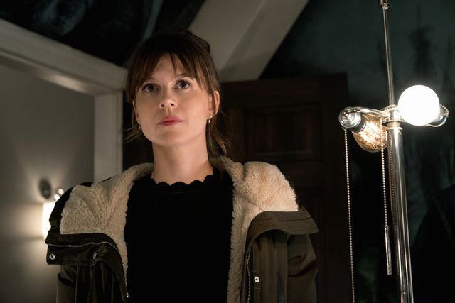 pictured katja herbers as kristen bouchard of the paramount series evilphoto elizabeth fishercbs ©2021paramount inc all rights reserved