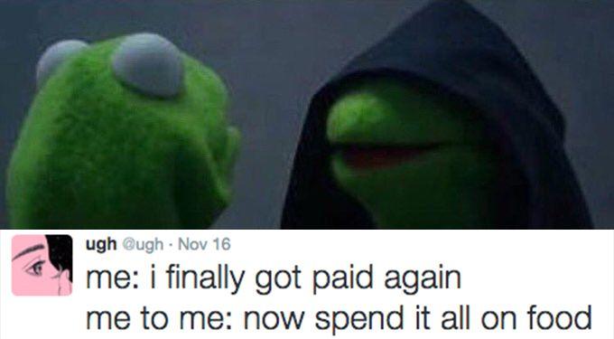 evil kermit 2 1479706992?crop=1.00xw 0.910xh;00.0901xh&resize=768 * 35 of the funniest, most relatable evil kermit memes