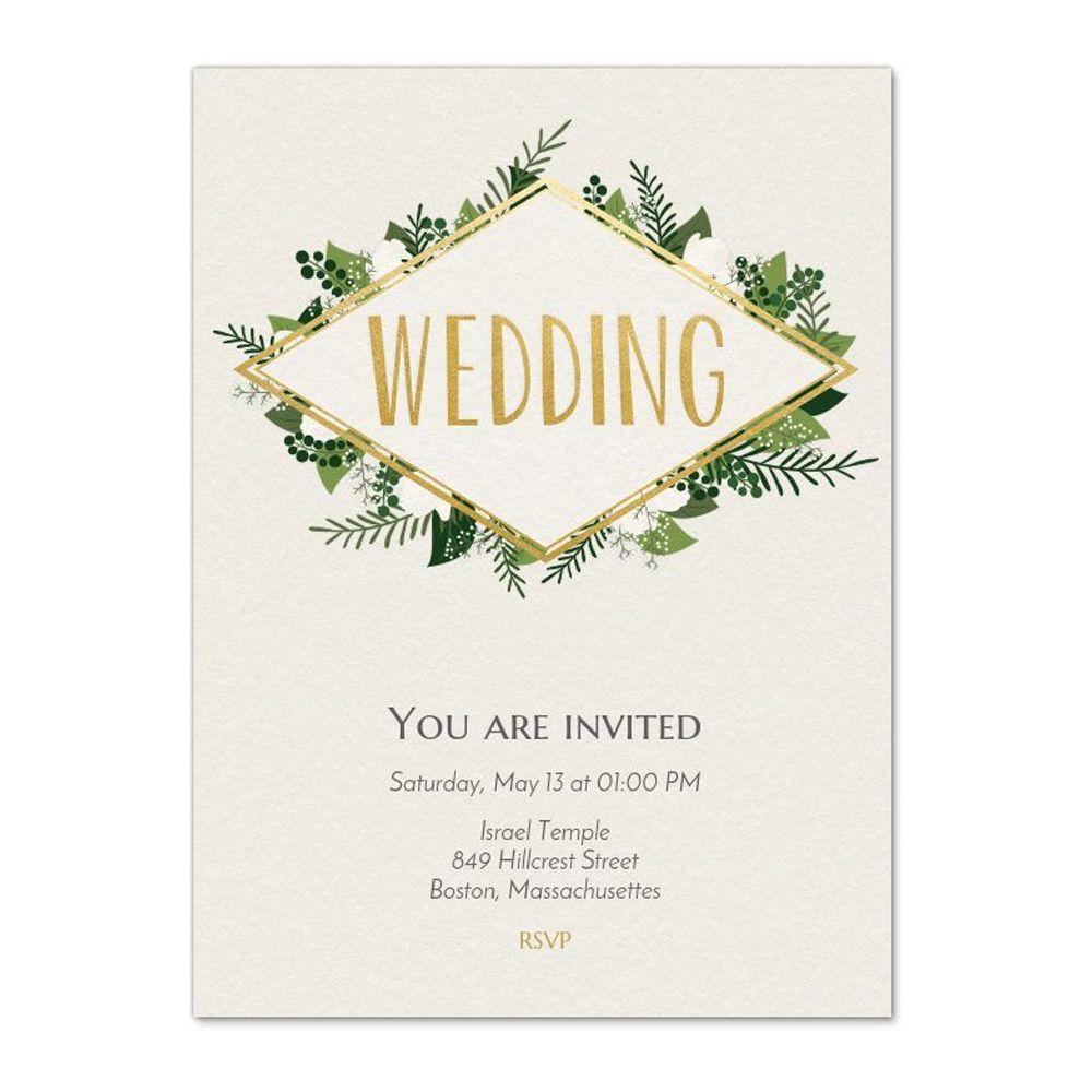 wedding evites