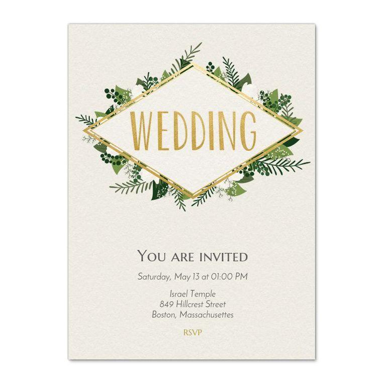 The 4 Best Websites to Get Online Wedding Invitations - Cute Online ...