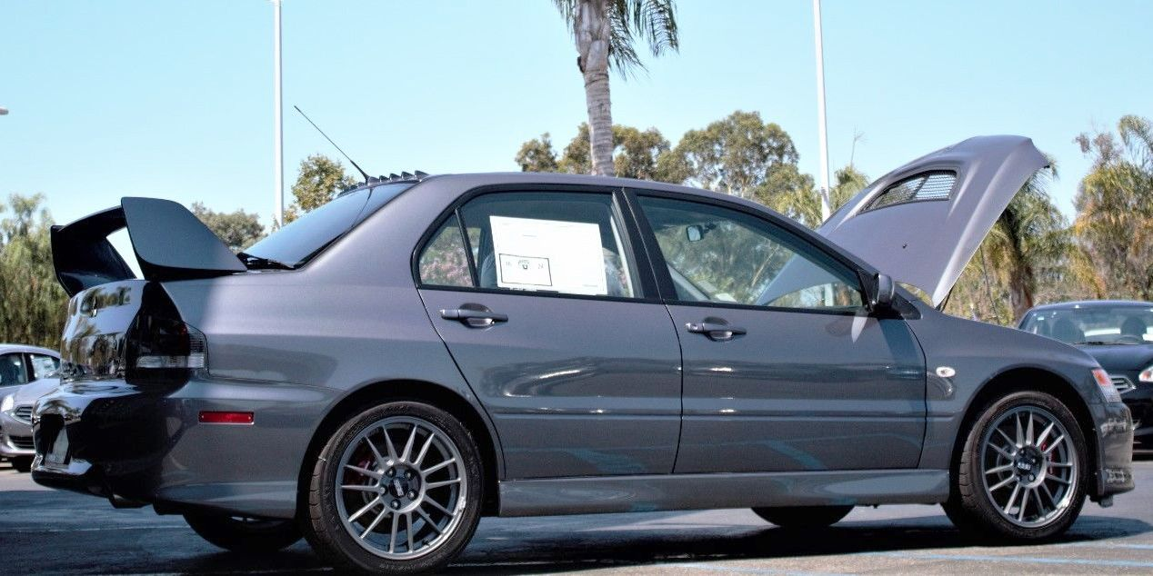 Image. EBay/samsuam. The Mitsubishi Lancer Evolution ...