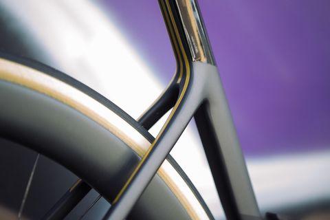Cannondale SuperSix aero detail