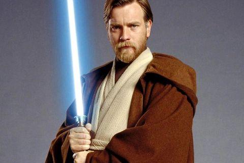 Fictional character, Obi-wan kenobi, Facial hair, Luke skywalker, Beard,