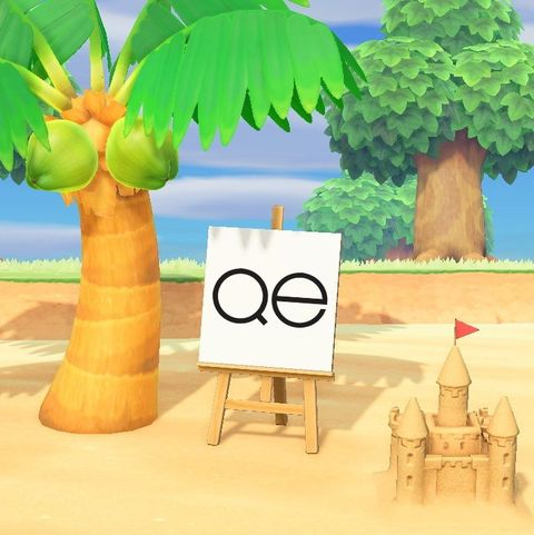 queer eye sign on animal crossing game