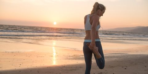 Why exercising on the beach gives your body a more effective workout