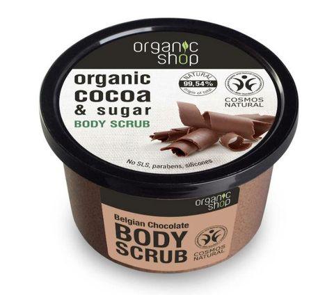 Exfoliante corporal chocolate Organic Shop