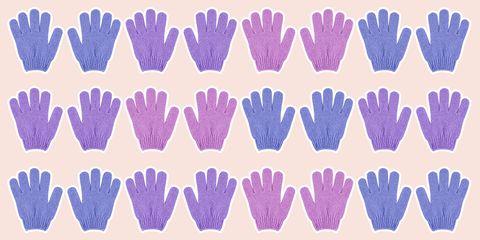 exfoliating gloves best 2018