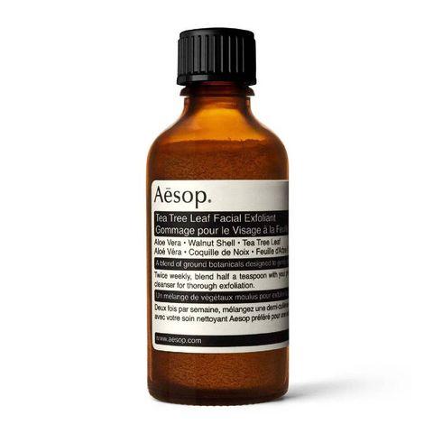 aesop tea tree leaf facial exfoliant   gezichtsscrub