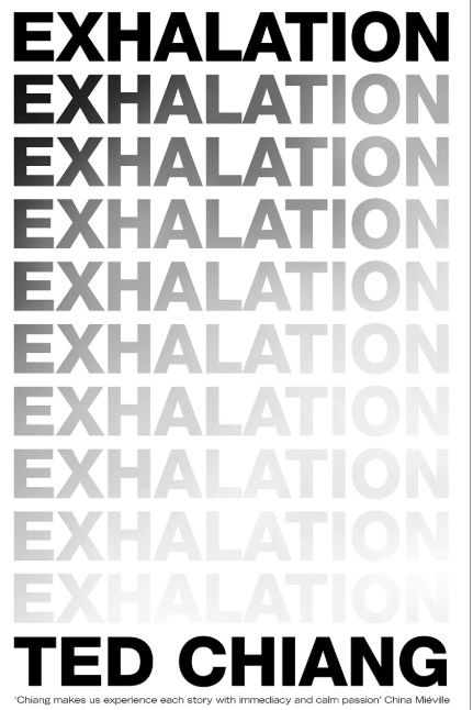 Exhalation by Ted Chiang Barack Obama books