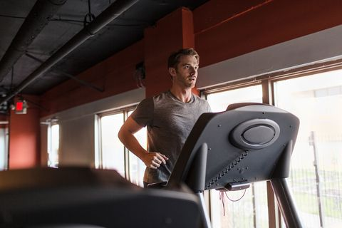 how much marathon training should you do on a treadmill?
