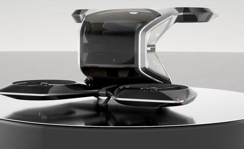 cadillac vtol single passenger drone