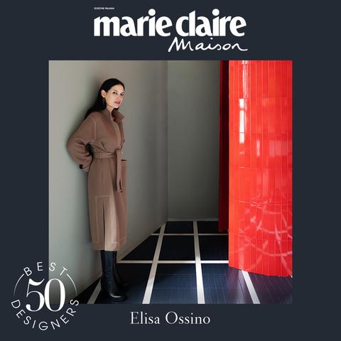 elisa ossino, design, best designer 50, marieclaire maison italia, aprile 2021