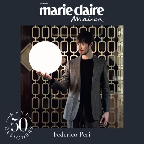 federico peri, matteo carassale, design, best designer 50, marieclaire maison italia, aprile 2021
