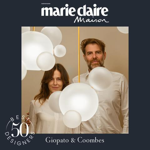 jon bronxl, giopato e coombes, design, best designer 50, marieclaire maison italia, aprile 2021