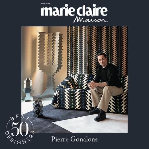 pierre gonalons, best designer 50, marieclaire maison italia, design, aprile 2021