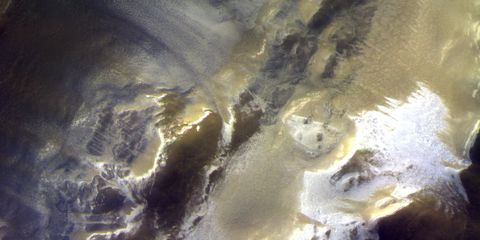 Water, Geological phenomenon, Sunlight, Watercourse, Space, Rock,