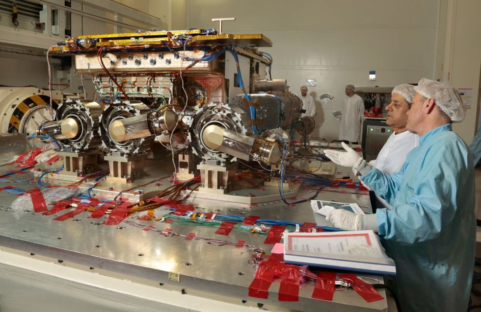 ExoMars Rover : Illustration In Toulouse