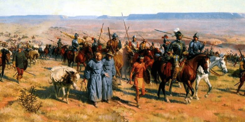 Hallan restos de la primera batalla entre conquistadores españoles e indios norteamericanos