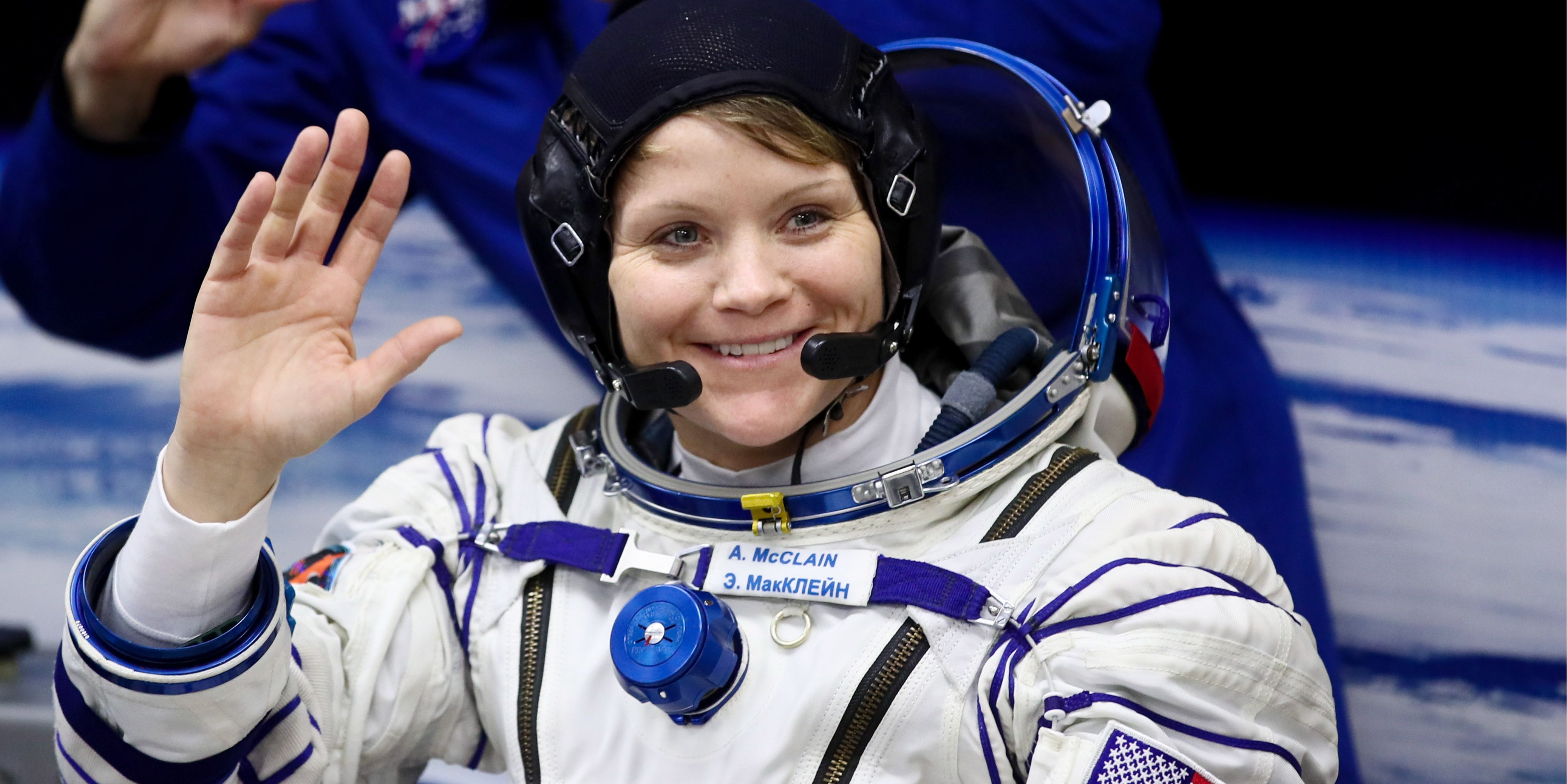 Expedition 58/59 main crew prepares for launch at Baikonur Cosmodrome
