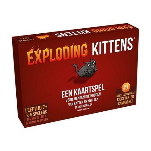 exploding kittens de leukste bordspellen