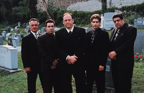 los sopranoExploring The Life Of A Modern Day Mob Boss The Exclusive New Series The Sopranos Combin