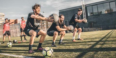 Sports, Sports training, Team sport, Ball, Player, Australian rules football, Sports equipment, Soccer, Ball game, Physical fitness,