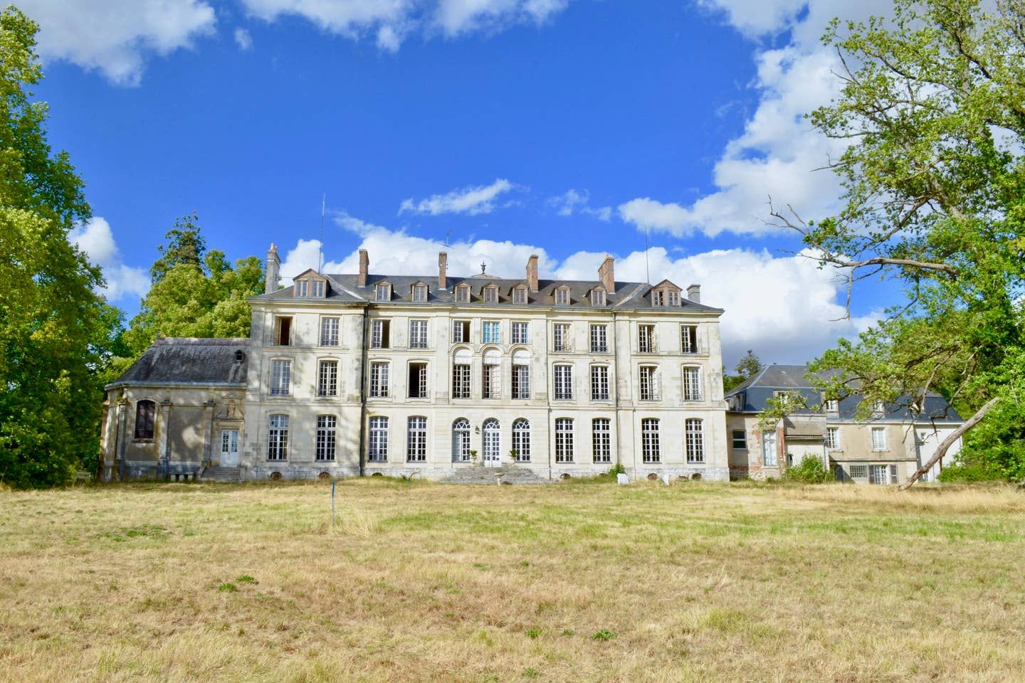 You can stay in an abandoned French chateau...while it gets renovated