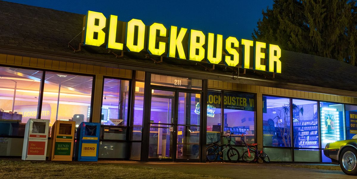 You Can Now Rent the Last Blockbuster Store in the Country for the Ultimate Movie Night
