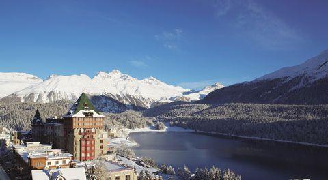 Badrutt's Palace hotel, St Moritz