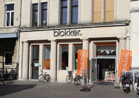 exterior of a 'blokker' store in belgium
