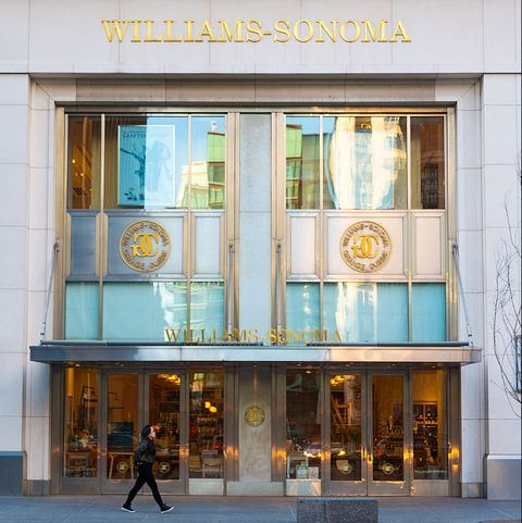 Exterior of Williams Sonoma store in Toronto. Williams...