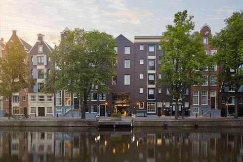 Waterway, Canal, Reflection, Water, Property, Tree, Architecture, Building, House, Home,