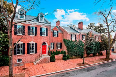 Kevin Plank Georgetown House