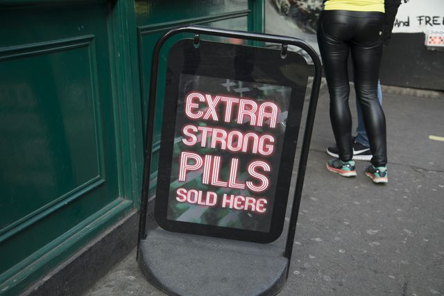 sex shop advertising in london