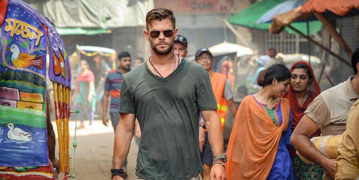 Marvel's Chris Hemsworth stars in first look at new Netflix movie