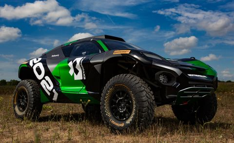 Extreme E's Electric SUVs Are Coming to an Off-Road Race Series