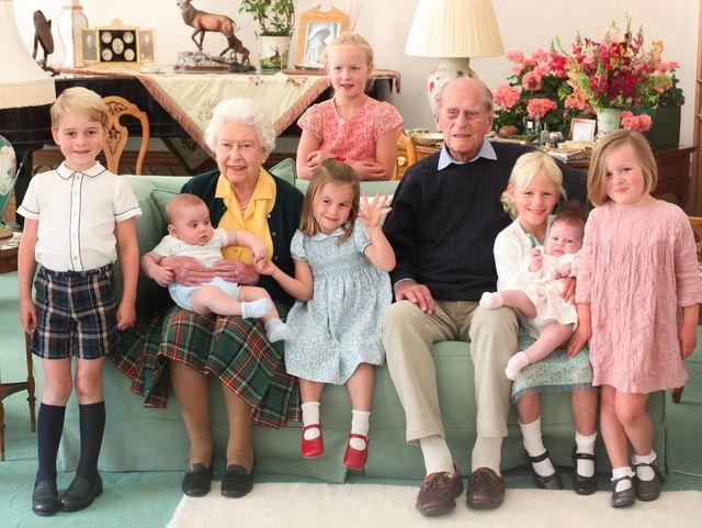 royal family plus great grandkids