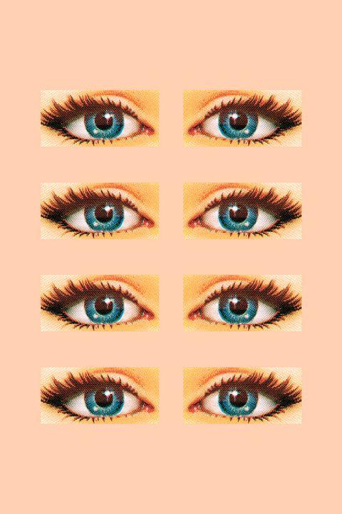 Eyebrow, Eye, Eyelash, Face, Blue, Green, Organ, Skin, Iris, Nose,