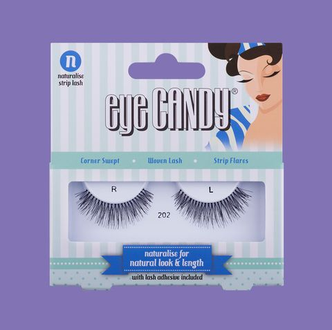 Eye Candy False Eyelashes Naturalise Strip Lashes 202