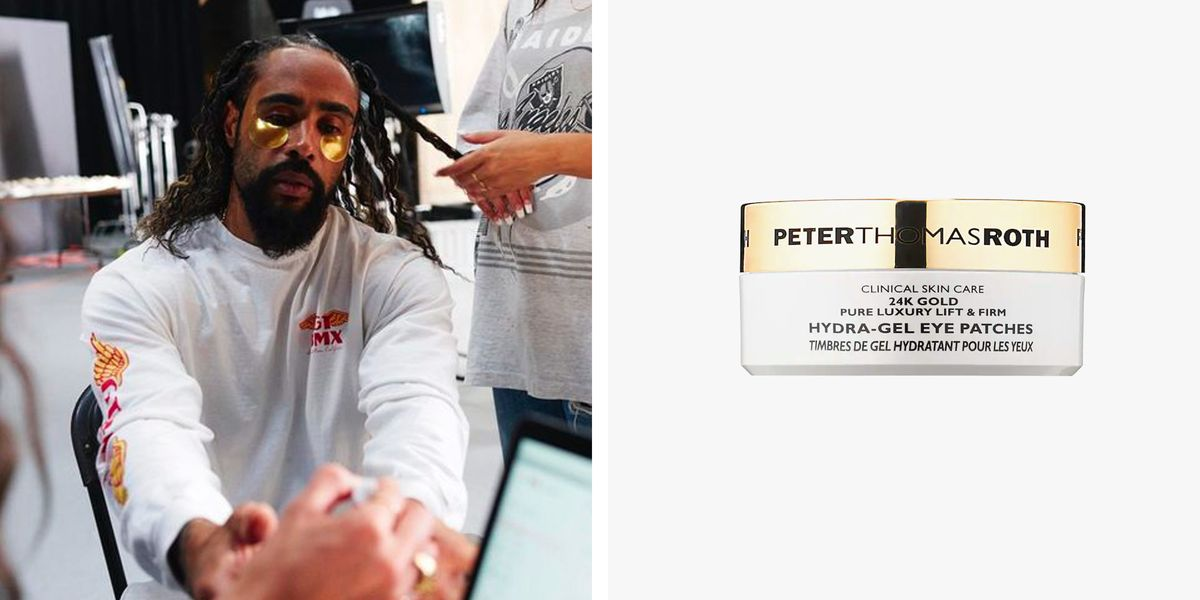 Get Jerry Lorenzo's 24K Gold Gel Eye Patches