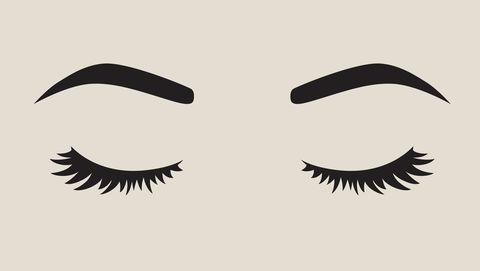 Pretty Woman Face Silhouette Vector Illustration
