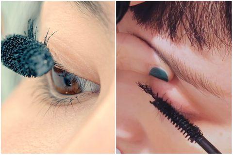 睫毛,睫毛膏,眼妝,刷睫毛,專業彩妝師,技巧,捲翹,夾子,彩妝教學,林依晨,紫星星