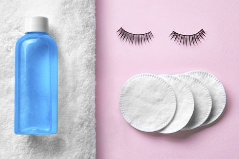 Eyelashes and Makeup Remover