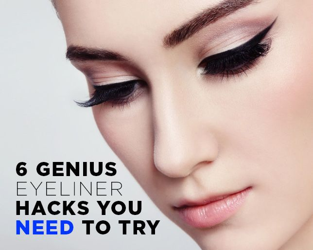 6 Genius Eyeliner Hacks You NEED To Try