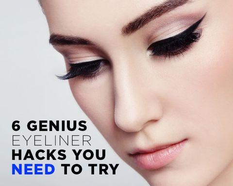 6 Genius Eyeliner Hacks You NEED To Try