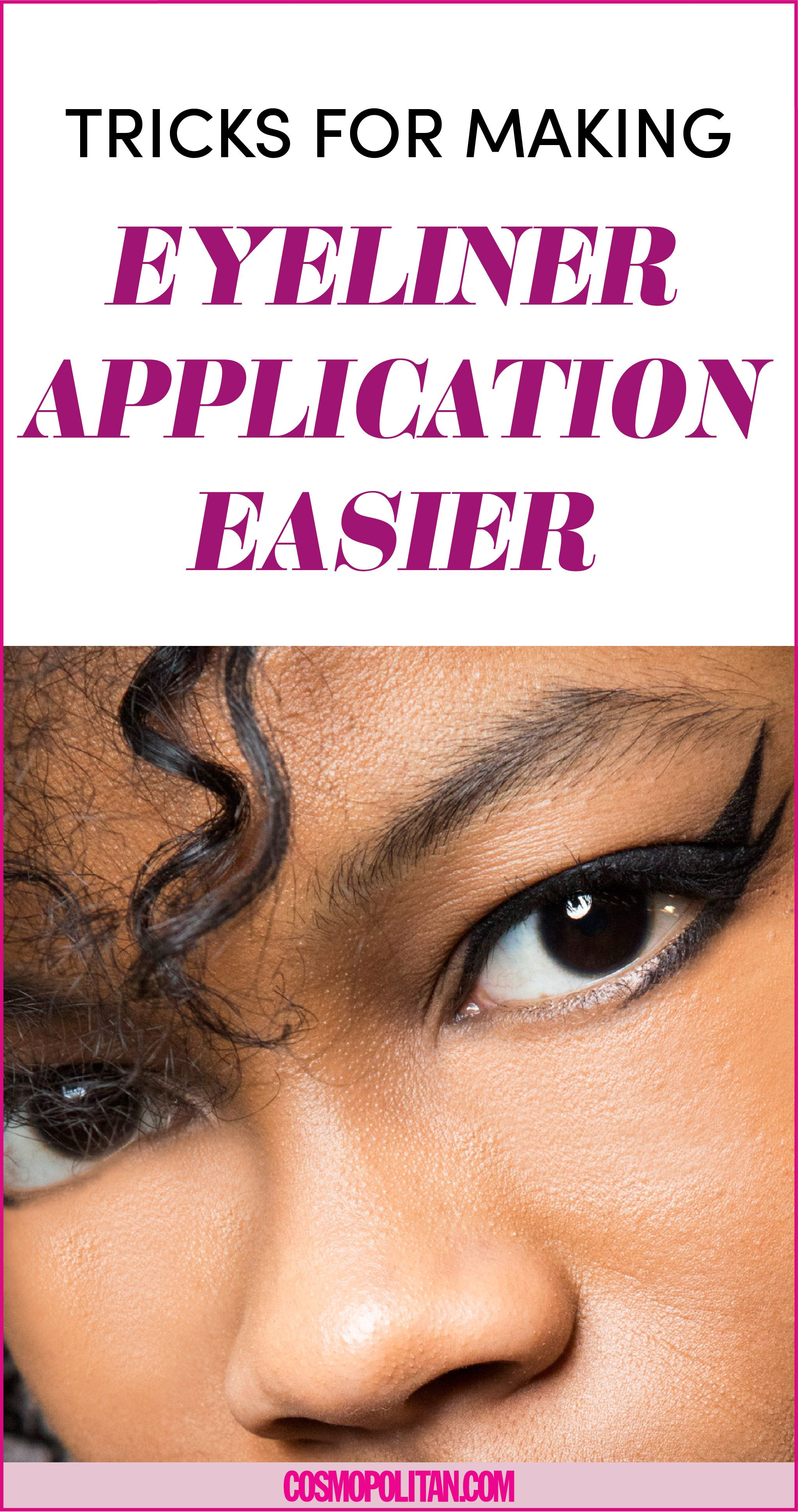 13 Tricks That'll Make Applying Eyeliner So Much Easier