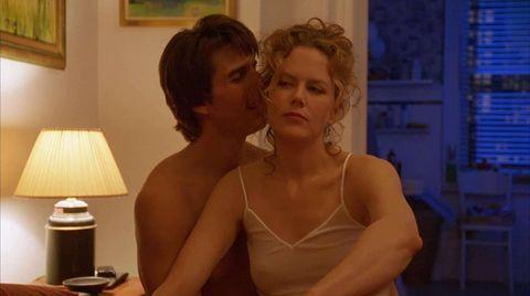 """Tom Cruise y Nicole Kidman en """"Eyes Wide Shut"""""""
